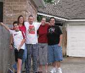 Zach, Kathy, Sam, Kristen, And David 12 2008